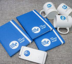 Блокноты с логотипом изготавливаем под заказ