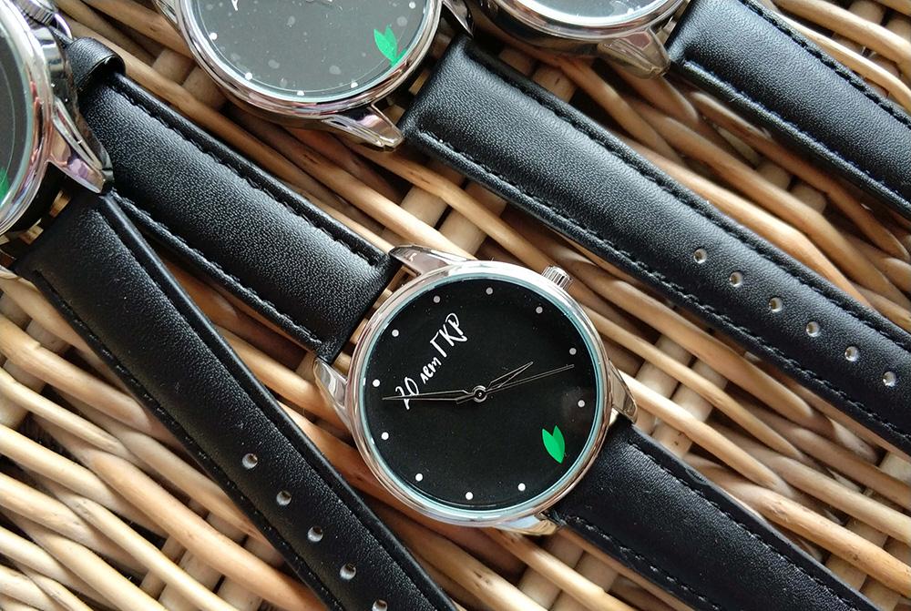 купить часы с логотипом