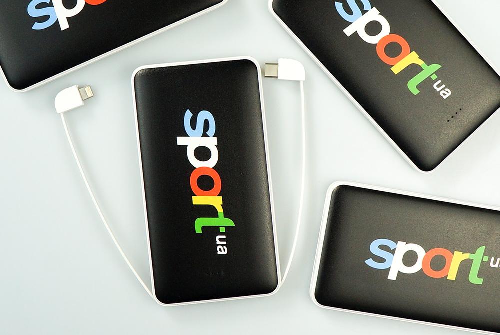 портативна батарея з логотипом