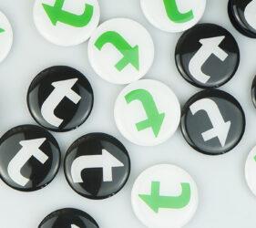 тримач для телефону з лого