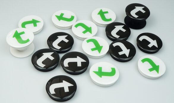 Попсокети з лого