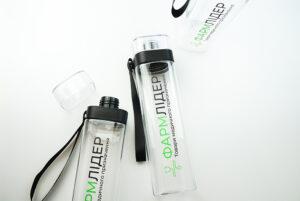 Брендовані пляшки для води