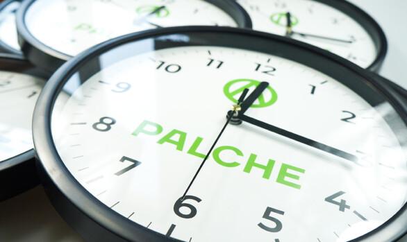 Годинник настінний з логотипом