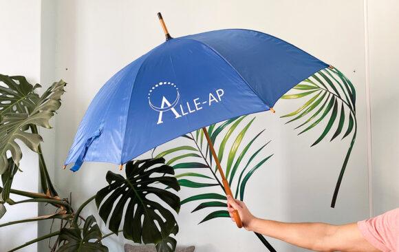Брендовані парасольки