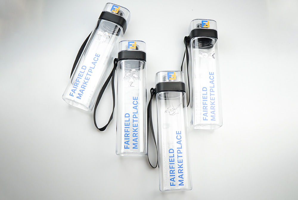 брендированные бутылки для воды