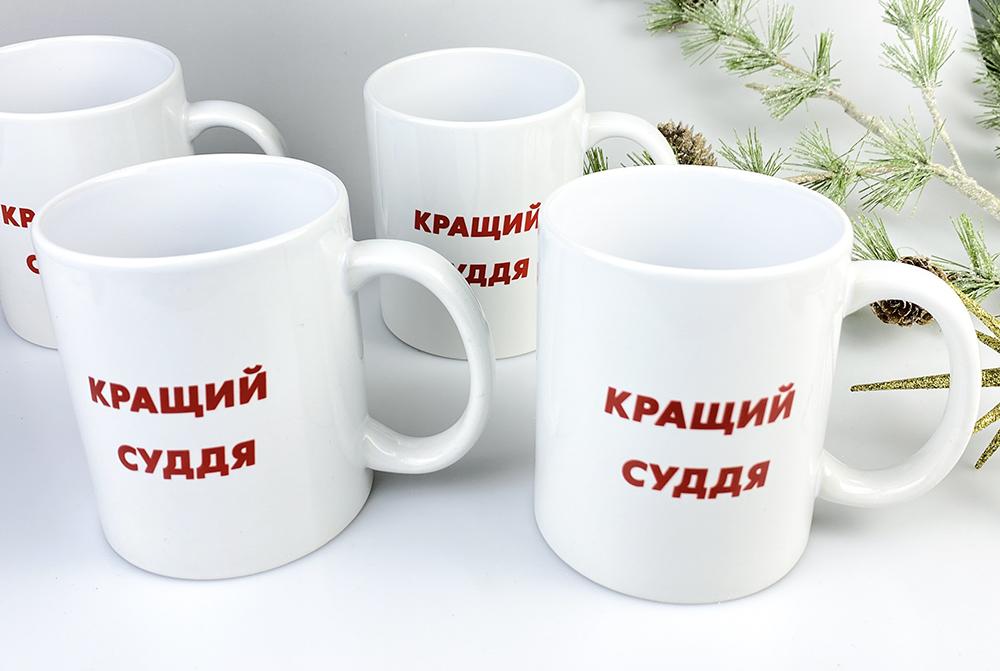 чашка керамическая с лого