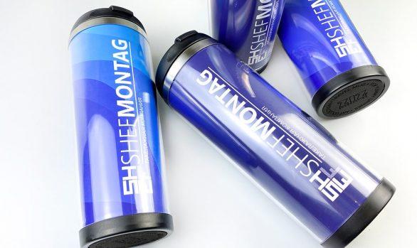 Термокружки брендированные для Shefmontage