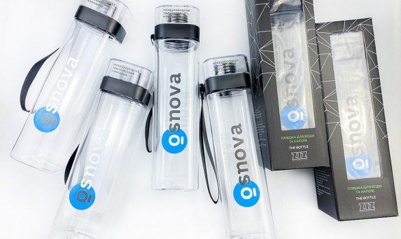 "Бутылки с логотипом ""Osnova"""