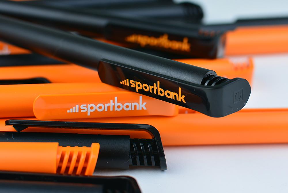 Ручки с логотипом для Sportbank картинка №3